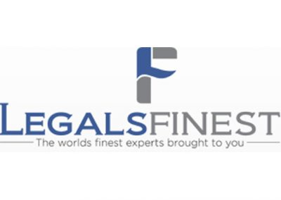 "<a href=""https://www.legalsfinest.com""> Legal's Finest.  </a>"