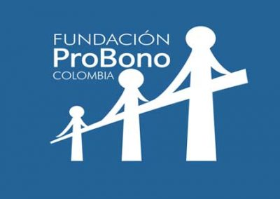 Espindola International Consultants is a member of the Foundation ProBono Colombia, a non-profit organization with a 100% private initiative that seeks to facilitate access to justice and ensure the provision of quality legal advice to low-income people and communities and social organizations that attend these populations. Visit